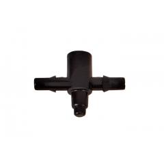 Соединение для трубки 4 мм на 2 выхода для капельниц AD 5003