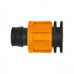 Заглушка для капельной ленты зажимная Dn17 AD 5110