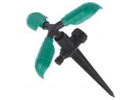 Ороситель 3 - х рожковый вращающийся на ножке
