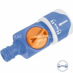 Адаптер – коннектор с ручным клапаном AS 112